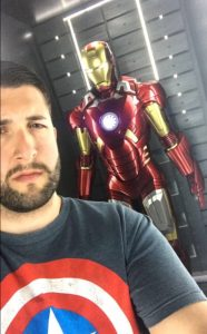Marvel Avengers STation Review Selfie