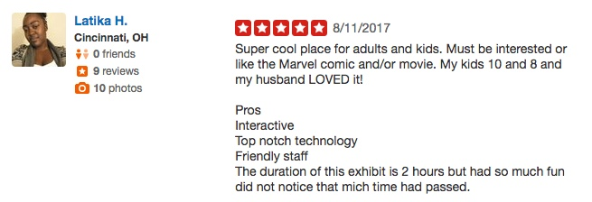 Marvel Avengers Station Reviews Yelp
